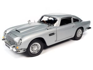 AUTO WORLD JAMES BOND 1965 ASTON MARTIN DB5 COUPE (NO TIME TO DIE) 1:18 SCALE DIECAST