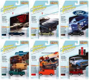 JOHNNY LIGHTNING CLASSIC GOLD 2021 RELEASE 3 SET A - DIECAST
