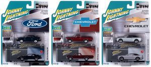 Johnny Lightning Assortment with Collector Tin 2021 R2 A Version