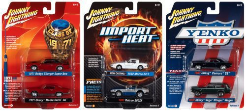 JOHNNY LIGHTNING 2021 RELEASE 3 VERSION A (2-PACK) 1:64 SCALE DIECAST