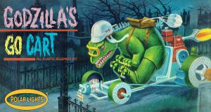 POLAR LIGHTS GODZILLA'S GO CART MODEL KIT